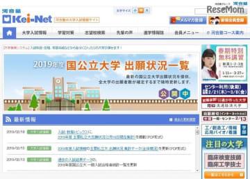 河合塾の大学入試情報サイトKei-Net