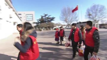 元宵節を前にボランティアが地震被災者療養施設訪問 河北省唐山市
