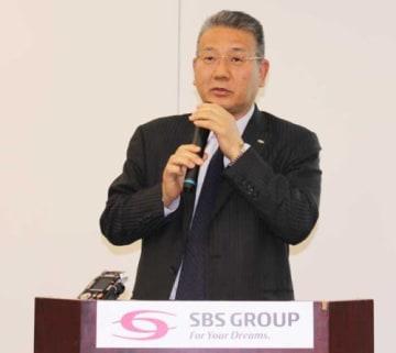 SBSHD/リコーロジとの融合で売上高3000億円目指す