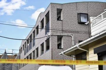 亡くなった小4女児の自宅がある千葉県野田市マンション=1月26日