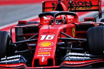 【F1テスト1回目デイ2・午前タイム結果】フェラーリのルクレールがトップ、レッドブル・ホンダのガスリーは5番手