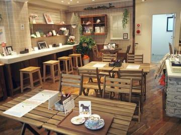 ペットをなくした人が集まる「ペットロスカフェ」=東京・神宮前