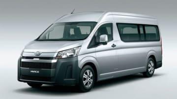 セミボンネット化されたトヨタ自動車の新ハイエース(同社提供)