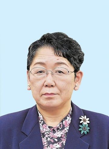 福井県知事選への出馬を表明した金元幸枝氏