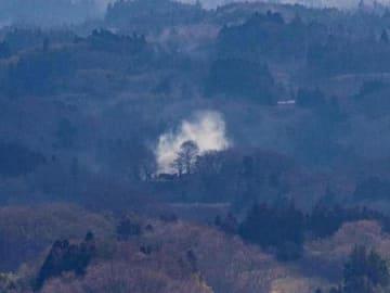 地域振興へ「のろし」 二本松・戦国時代の山城、8キロ先に伝達