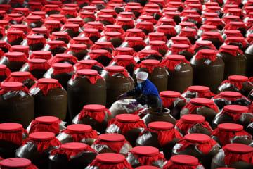 注目集める伝統食品「紅酸湯」 貴州省