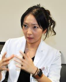 「脳血管内治療」の現状などを解説する日本脳神経血管内治療学会指導医の大川原舞診療部長