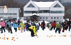 3月3日に催し多彩な登別・カルルス温泉冬まつり