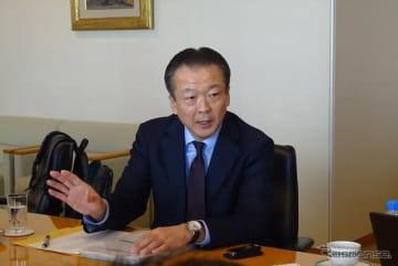 ホンダの北米地域本部長で米国ホンダ社長も務める神子柴寿昭専務執行役員