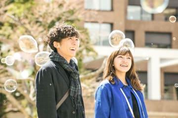 高橋一生&川口春奈があなたの恋を占う!『九月の恋と出会うまで』占いキャンペーン