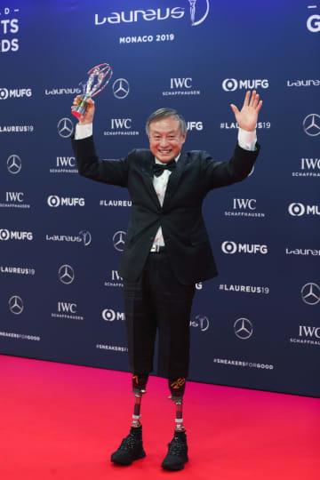 中国人登山家、年間最優秀スポーツモーメント賞受賞
