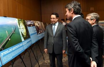 在ポルトガル中国大使館、国交樹立40周年祝賀レセプション開催
