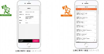 アプリのイメージ。(画像: エントリーの発表資料より)