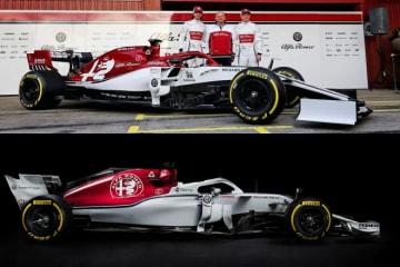 """【新旧F1マシンスペック比較】アルファロメオ編:ライコネンもC38の感触に満足。""""ザウバー新時代""""のスタートを飾れるか"""
