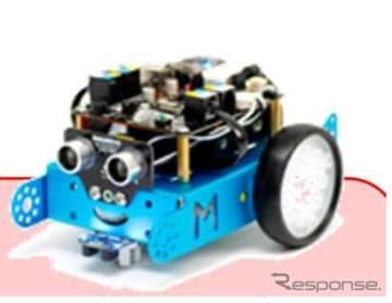 自動運転のモデルとして使えるロボット「mBot」