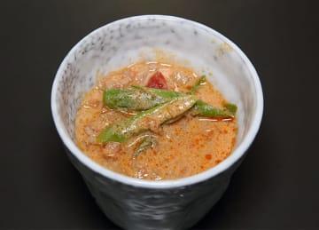 「ポークトマト豆乳スープ」