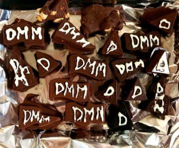 豆入りチョコを手作りして豆を約60粒消費