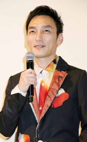 映画「まく子」の完成披露上映会に登場した草なぎ剛さん