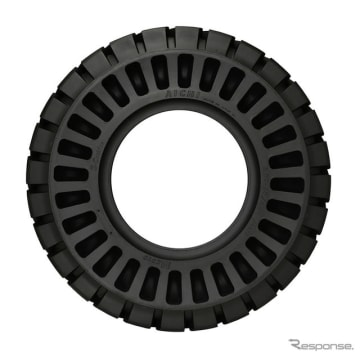 愛知タイヤ工業製フォークリフト用クッションタイヤ アイチ E-クッション