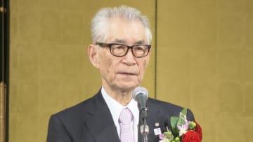 神戸市から「名誉市民」の称号が贈られた本庶佑さん