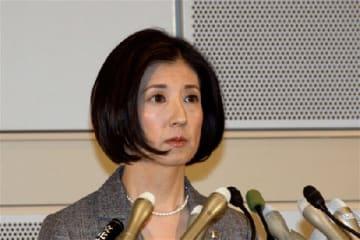 大塚久美子社長(2015年3月撮影)