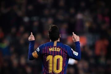 バルセロナのメッシ photo/Getty Images