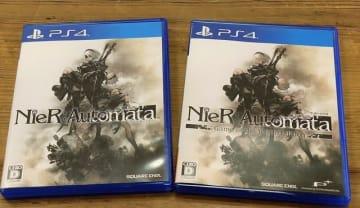『NieR:Automata Game of the YoRHa Edition』パッケージはオリジナル版とどう違う?並べて確認してみた