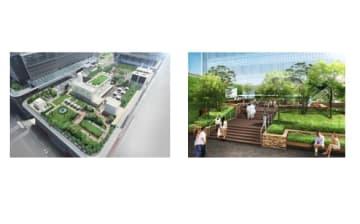 都内最大級の屋上庭園のイメージ(高島屋発表資料より)