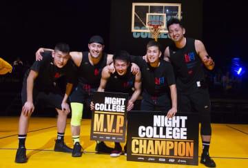 3on3バスケ「SOMECITY」ストリートvs大学の頂点にSOMECITY BLACK輝く