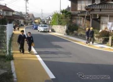 バリアフリー化する特定道路に追加指定する道路(案)について