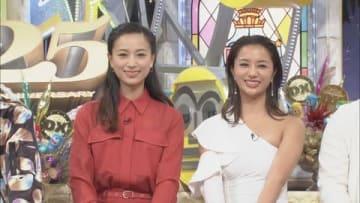 21日放送の「ダウンタウンDX」に出演する高橋メアリージュンさん(右)と高橋ユウさん