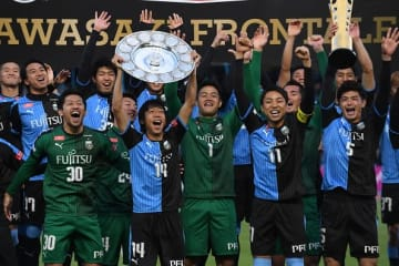 昨季J1連覇を成し遂げた川崎 photo/Getty Images
