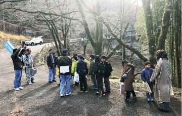 12月に行った記念事業で相模ダムを訪れた