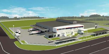 日通/カンボジア日通がプノンペン海外特区に新倉庫を建設