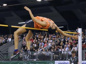 도베 나오토, 높이뛰기 우승