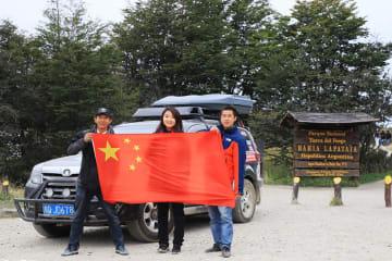 中国人男性、オフロード車で五大陸を走破