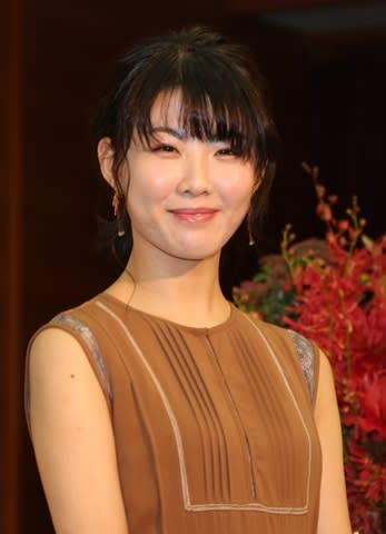 NHK大阪放送局で行われた会見に出席した福田麻由子さん