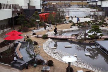 関西最大級の温泉型テーマパーク「空庭温泉」、26日オープン