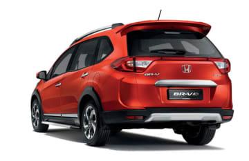 ホンダ・マレーシアが発売した「BR—V」の限定モデル(同社提供)