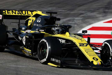 【F1テスト1回目デイ4・タイム結果】最終日にルノーがトップタイム、トロロッソ・ホンダのアルボンが2番手に続く