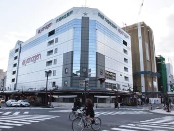 8月いっぱいでの営業終了を決めたヤナゲン大垣本店=21日午後、大垣市高屋町