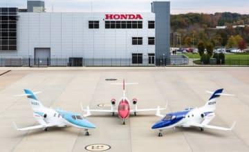 HondaJet Elite(左)、HondaJet(中央)、HondaJet APMG(右)(写真: 本田技研工業の発表資料より)