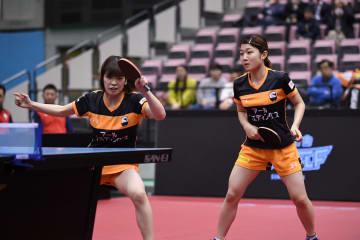 【卓球・Tリーグ】名古屋が初の連勝を飾る 残るホーム2戦で3位狙う