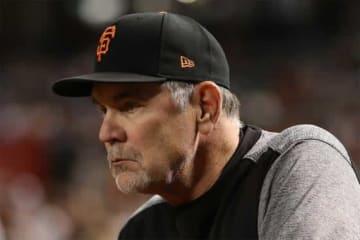 今季限りで退任することを表明したジャイアンツのブルース・ボウチー監督【写真:Getty Images】