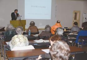 現在は使われていない町名から室蘭の歴史を振り返った歴史講座