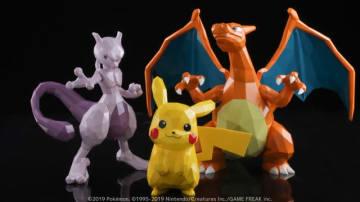 ピカチュウ、ミュウツー、リザードンがスタイリッシュなフィギュアに!『POLYGO ポケットモンスター』シリーズ2019年7月発売決定