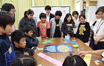 持続可能な水利用とは? 島の課題ゲームで学ぶ 多良間小「水の環」教室開催