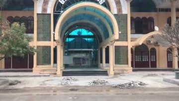 正恩氏のため? 花壇を撤去 ベトナムの駅 準備加速