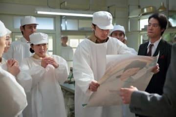 NHK連続テレビ小説「まんぷく」第121回の一場面(C)NHK