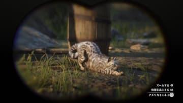 """『レッド・デッド・リデンプション2』でも「猫の日」を堪能したい! """"都会の猫""""と""""田舎の猫""""に24時間密着"""